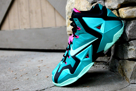 Release Date: Nike LeBron 11 South Beach + Detailed Images