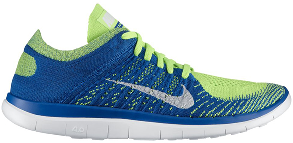 79187ac458a0 Nike Free 4.0 Flyknit Blue Green cost2insure.co.uk