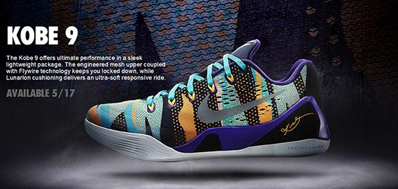 Spring Summer 2014 Nike Kobe 9 EM Releases