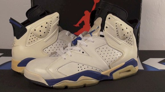 cheap for discount bdbc3 a6f17 Vault: Air Jordan 6 Original (OG) Sport - September Blue ...