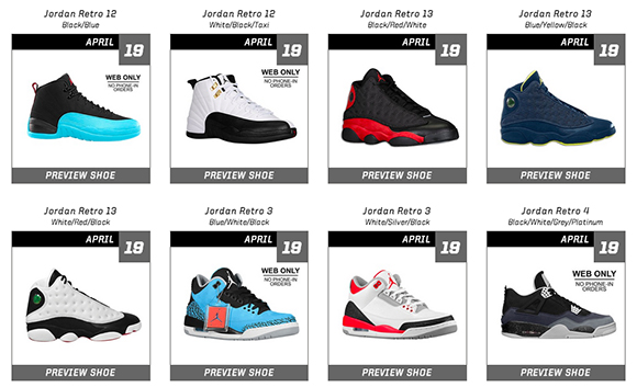Weekend Release Reminder Air Jordan Restock