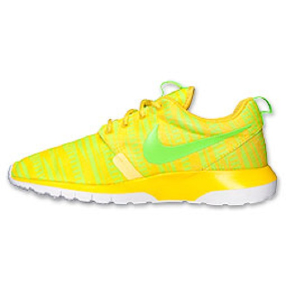 Nike Roshe Run NM Charm Yellow Available Now