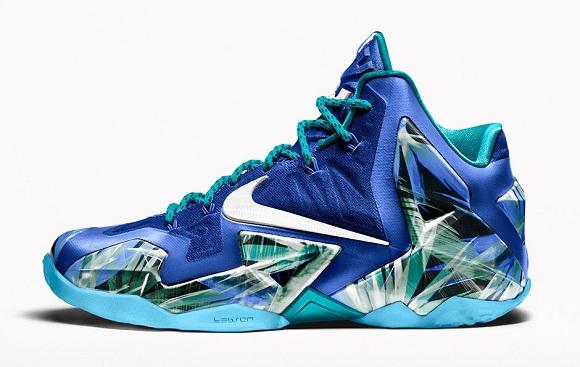Nike LeBron 11 Everglades - New Release Date