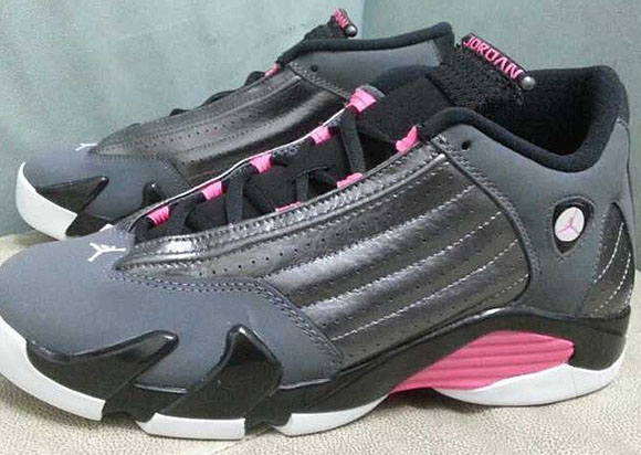 Air Jordan 14 GS - Grey/Pink