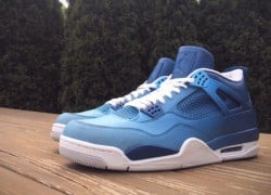 "Air Jordan 4 ""Pantone Fade"" Customs by Mache Customs"