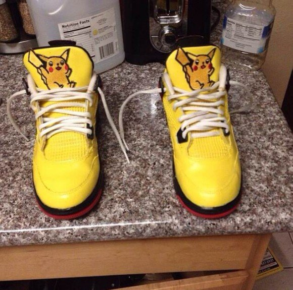air-jordan-iv-4-pikachu-customs-by-deandre-collins