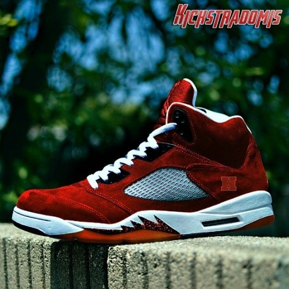 air-jordan-v-5-harvard-university-customs-by-kickstradomis