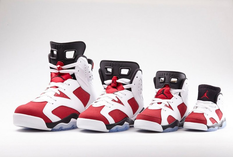 huge discount 3448f 2d937 Air Jordan VI (6) 'White/Carmine-Black' - Foot Locker ...