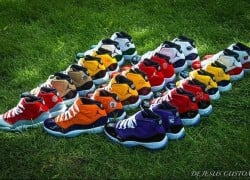 Air Jordan XI (11) 'Big Ten' Custom Collection