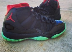 "Air Jordan XI (11) ""Black Solar"" Customs by V.A.B."