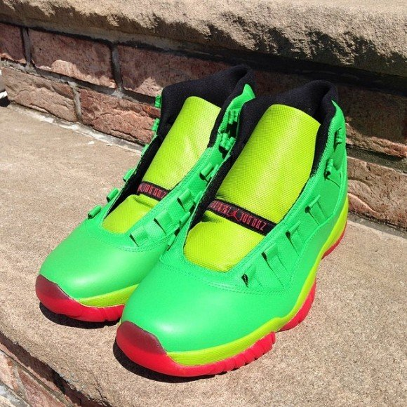 air-jordan-xi-11-raphael-tmnt-customs-by-future-kicks