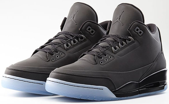 Black Air Jordan 3 5Lab3 Official Look
