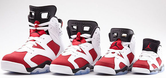 Carmine Air Jordan 6 Official Look