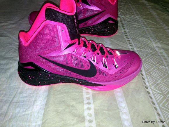 Checkout the Pinkfire Nike Hyperdunk 2014
