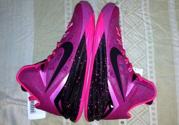 Checkout the Pinkfire Nike Hyperdunk 2014