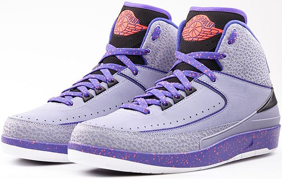 Iron Purple Air Jordan 2 Official Look