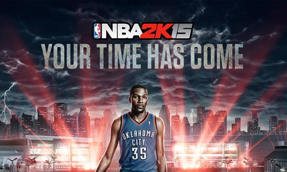 Kevin Durant Lands on Cover for NBA 2K15