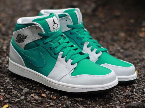 Lush Teal Air Jordan 1 Mid