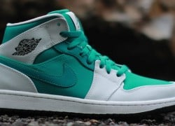 'Lush Teal' Air Jordan 1 Mid