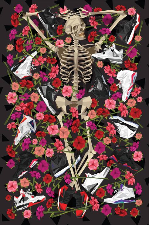 Naturel x Spilled DOA Sneaker Rug