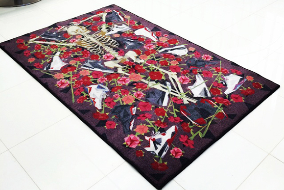 Naturel x Spilled DOA Sneaker Rug