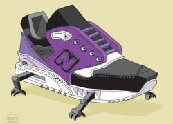 New Balance Sneaker Art by Ghica Popa