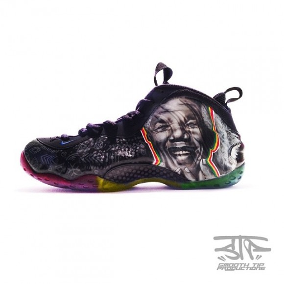 Customs Smooth Foamposite Mandela By Air Nelson Tip Nike OPXuZkTi