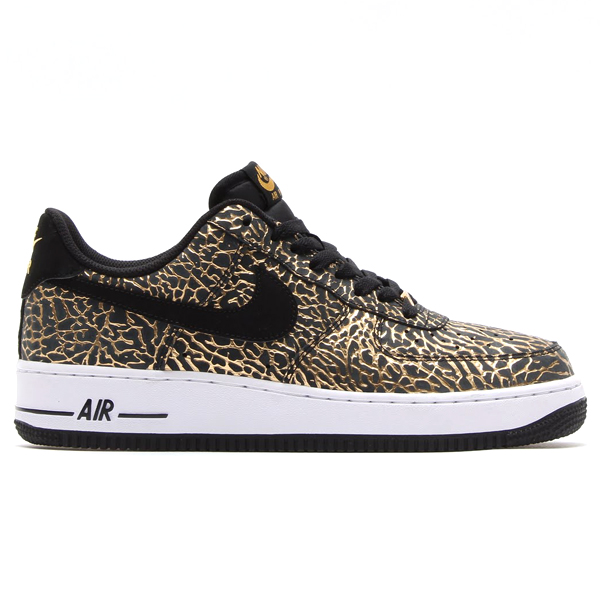 Nike Air Force 1 Low 'Gold Elephant Print' – New Images
