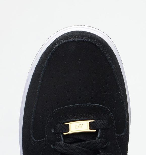 Nike Air Force 1 Mid Black/Metallic Gold