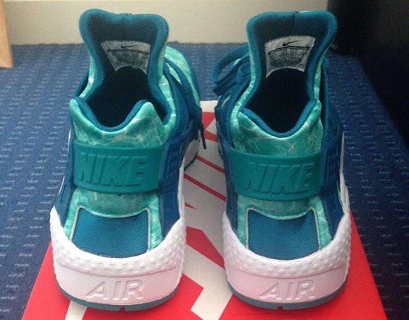 sports shoes a9e2f 87fc3 80%OFF Nike Air Huarache Green Abyss Turbo Green Brazil