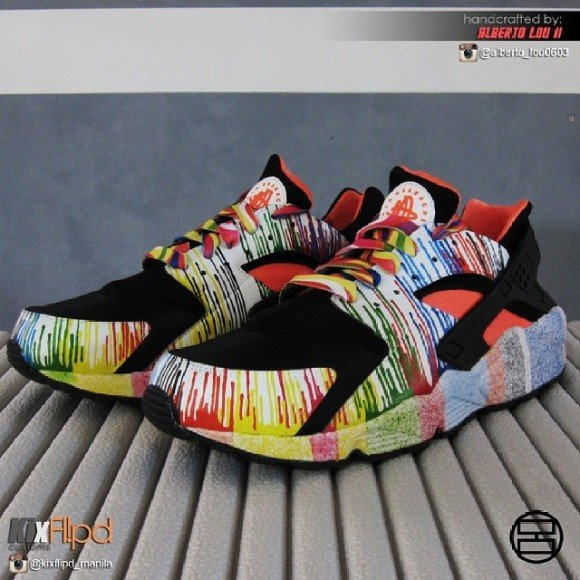 nike-air-huarache-wet-paint-customs-by-alberto-lou