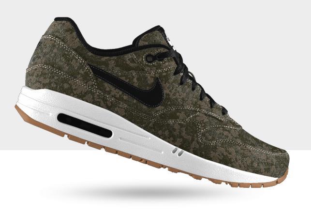 b88a234b791fd Nike Air Max 1 iD 'Camo Jacquard' & 'Zig Woven' Options | SneakerFiles