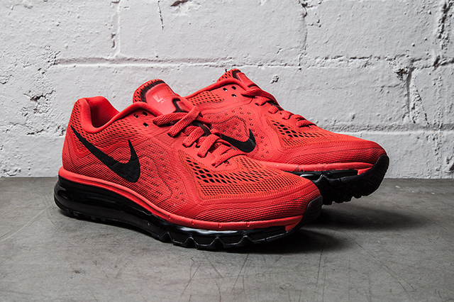 air max 2014 red and black