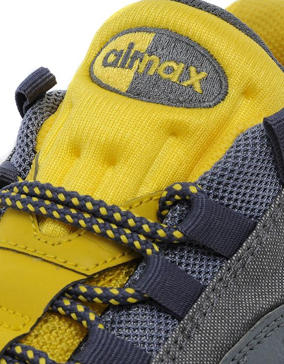 Nike Air Max 95 Grigio E Giallo F15DXN
