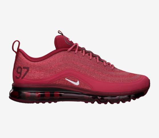 nike air max 97 2013 cardinal red color