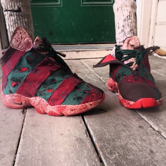 Nike Air Zoom Flight The Glove Elm Street Customs by FBCC NYC
