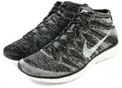 Nike Free Flyknit Chukka 'Black/Pure Platinum-Sail-Dark Grey'