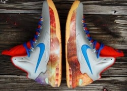 "Nike KD 5 ""Big Bang Alike Remix"" Customs by Gourmet Kickz"