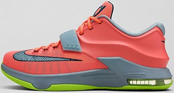 156886e7d1b1 Nike KD 7 Colorways Price Release Date