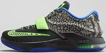 low priced cad45 90e0e Nike KD 7 Electric Eel