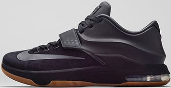 Nike KD 7 EXT Black Suede Release Date 2014