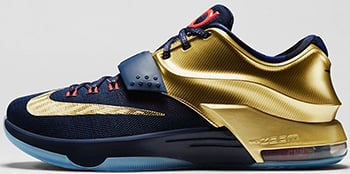 Nike KD 7 Gold Medal Release Date 2014