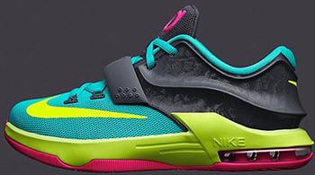 Nike KD 7 GS Carnival Release Date 2014