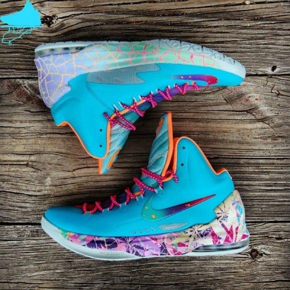 Nike Zoom KD 5 What The KD Custom