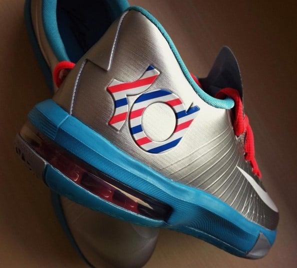 Nike KD VI (6) GS  Barber   f24a3927a
