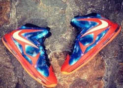 "Nike Lebron 10 ""Big Bang"" Customs by Fuda Customs"