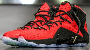Nike LeBron 12 EXT Red Paisley Release Date 2015