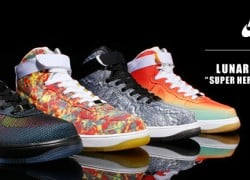 Nike Lunar Force 1 Hi 'Super Heros Unleashed' Pack