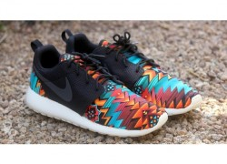 """Nike Roshe Run """"Aztec"""" Customs by Profound Product"""