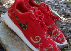 """Nike Roshe Run """"Baroque"""" Customs by C. Whitt Customs"""
